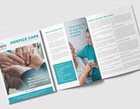 Hospice Care - Magazine, Brochure and Flyer Design