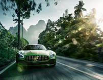 """AMG GT-R """"Green Hell"""""""