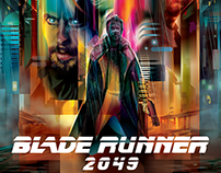 BLADE RUNNER 2049- Vector Tribute / Limited Print