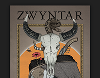 Tour poster for Zwyntar band