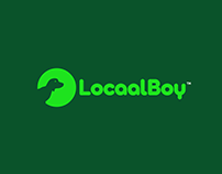 Locaal Boy Pet Dog Rescue Team Logo
