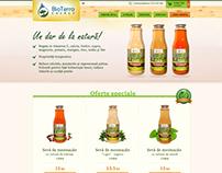 BirchJuice - presentation website