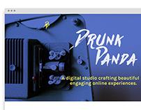 Drunk Panda Website Template