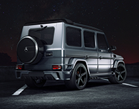 "Mercedes-Benz G Klasse    ""Black Stone"""
