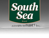 South Sea Rebranding/Label packaging