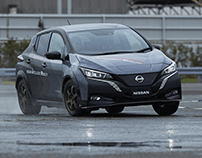 NISSAN-leaf-e-4orce-twin-motor-demo-car