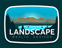 Logotipo para Landscape Wealth advisor