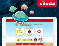 Vileda – ViRobi Website