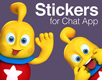 Stickers - Agnitus Chat App