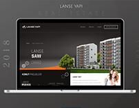 Lanse Yapı Real Estate New Web Design