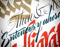 Calligraphy for Accent/Aeroméxico