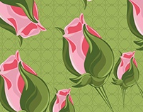 Botao de rosas