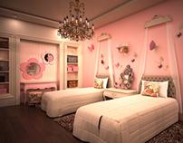 Villa in Tagmou3 - Girls bedroom