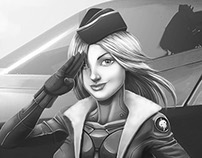 Battle babes - Jet Fighter