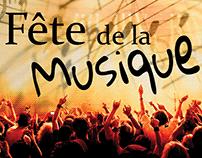 Fête de la musique à Meaux - Affiche/poster