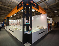 "Exhibition Booth design for ""Art Collection"" company"