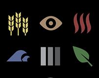 ESRI Landsat app icons
