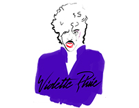 Violette Pluie Surfboard