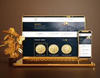 Interface Design Alpari Gold