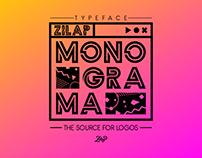 Zilap Monograma. Typeface - Font