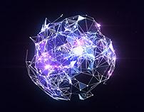 Plexus Globe Logo Reveal