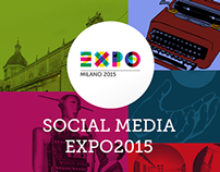 Expo 2015 ( Social Media Team Art Direction )