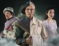 """""""Redemption"""" Movie Poster (La Redención)"""