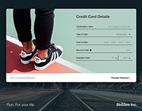 #100DaysUI #002 Credit Card Checkout
