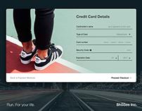 #100DaysUI #002 Credit Card Checkout
