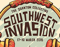 Southwest Invasion Concert Poster