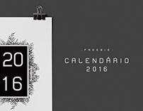 Freebie   Calendário 2016