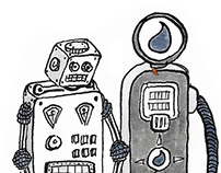 Drawing: Robot project