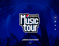 Pepsi / Web Music Tour