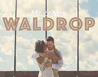 Mr. & Mrs. Waldrop: Wedding Photography
