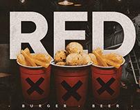 Social Media #02 - Red Light Burger & Beer