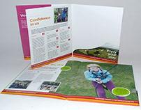 A5 Folder Brochures Printing