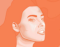 Peachy Portrait