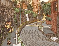 100 Views of Tokyo(46〜50)