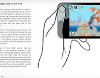 Inspector Gadget UI concept