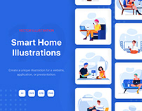 Smart Home Illustrations