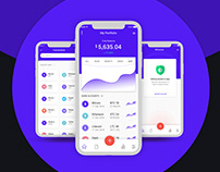 Crypto Currency App – iPhone Xs