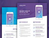 Mobile Apps – Bundle Print Templates