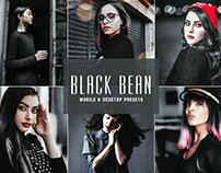 Free Black Bean Mobile & Desktop Lightroom Presets