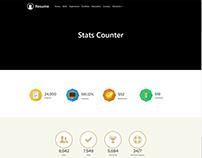 Stats Counter - Resume WordPress Theme