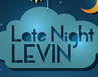 Late Night Levin Poster