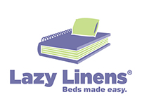 Lazy Linens identity (Cutting Room Floor)