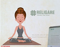 Agency Scarecrow Advertising, Religare-Calendar 2016