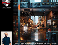 Canaletto Mastering Lighting Students Gallery