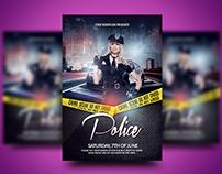 Police Night Flyer