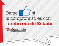 PROGOBERNABILIDAD PIEZAS XX CONGRESO INTERNACIONAL CLAD